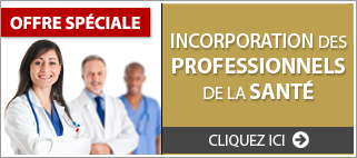 Incorporation professionnels sante